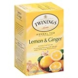 Twinings Herbal Lemon and Ginger Tea, 40 Count - Best Reviews Guide