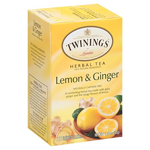 (Twinings Herbal Lemon and Ginger Tea, 40 Count)