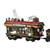 Department 56 Halvl Scary Ghost Hauler Lit_house