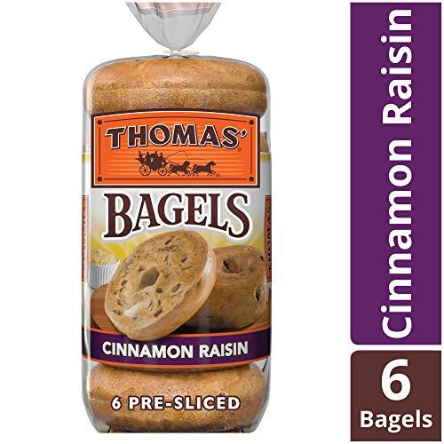 Thomas Cinnamon Raisin Bagels, 6 Count