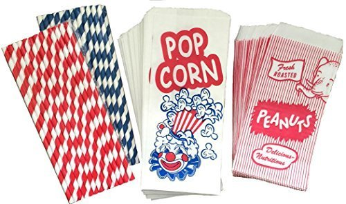 Outside the Box Papers Popcorn Bags Peanut Sacks