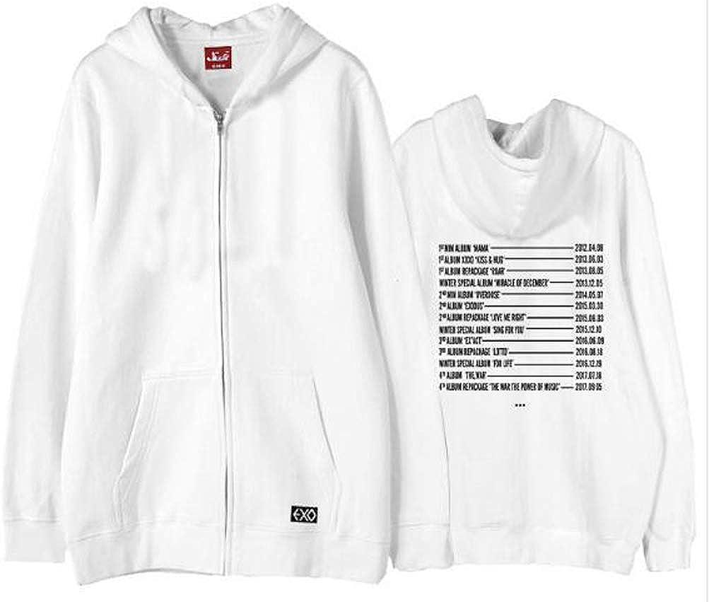 EXO Concert Fans Support Jacket Sweatshirt