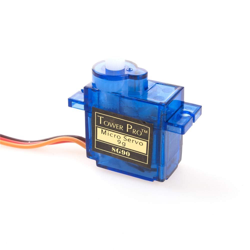 ANGEEK SG90 Micro Servo Motor 9G RC Robot Helicopter Airplane Boat Controls Pack of 5