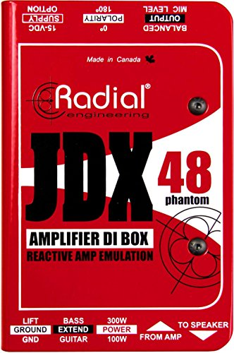 Radial JDX 48 - Active Guitar Amp Direct Box by Radial