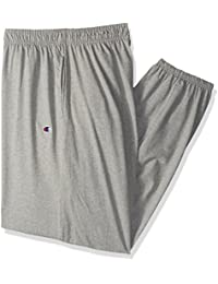 Men's Closed Bottom Light Weight Jersey Sweatpant, Oxford Gray, 4XL