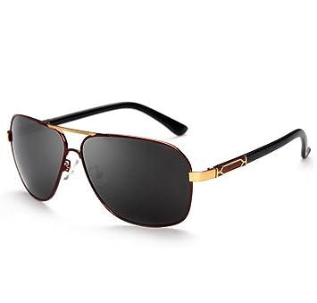 SHULING Gafas De Sol El Nuevo Big Box Hombres Gafas De Sol ...
