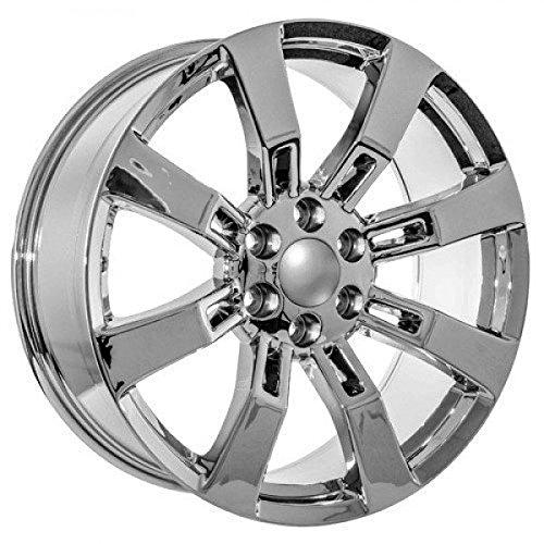 amazon 22 inch chrome chevy ck375 replica wheels fits silverado Avalanche Truck 2014 amazon 22 inch chrome chevy ck375 replica wheels fits silverado truck automotive