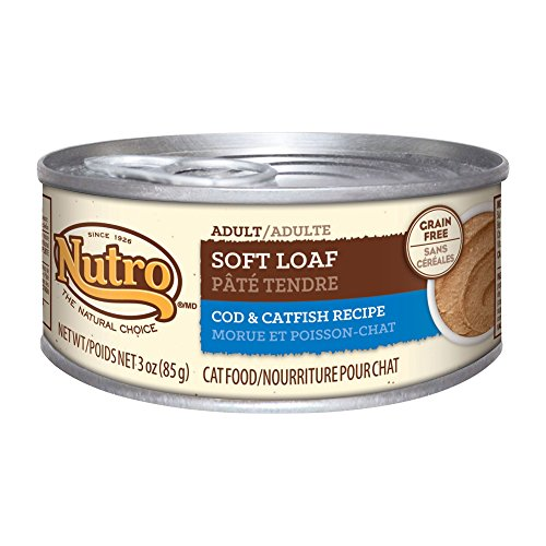 Nutro Natural Choice Cat Soft Loaf Cod and Catfish, 24 by 3