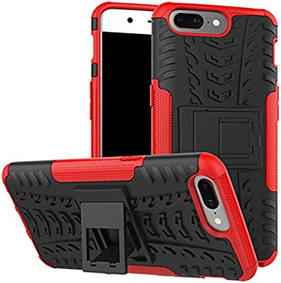 OnePlus 5 Funda, adorehouse Hybrid TPU y PC Bumper Back ...