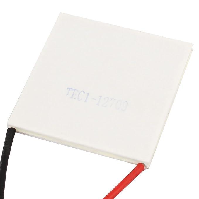 Amazon.com: DealMux TEC1-12709 15V 9A termoeléctricos módulo refrigerador refrigerar Placa Peltier: Electronics
