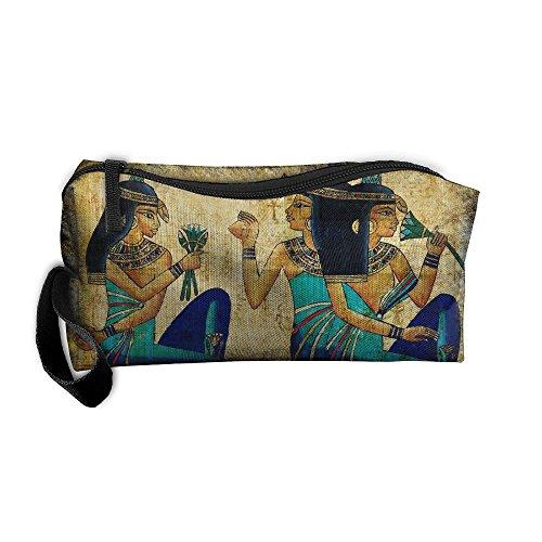 Ancient Egyptian Women Travel Cosmetic Zipper Bags Makeup Clutch Pouch Toiletries Organizer - Ancient Sunglasses