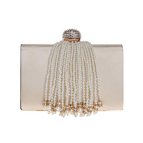 Ladies Tassel Bag Color American 1 1 Evening Luxury Women'S Evening And Bag Lady Bag Hand European Bag Banquet wSpFf