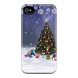 New Fashionable DAMillers RfT1400iEXg Cover Case Specially Made For Iphone 4/4s(christmas On Its Way)