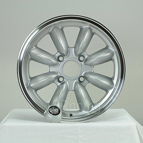 ROTA RB WHEELS 15x7 PCD: 4x100 OFFSET: 25 HB:57.1 SILVER WITH POLISH - Wheel Rota