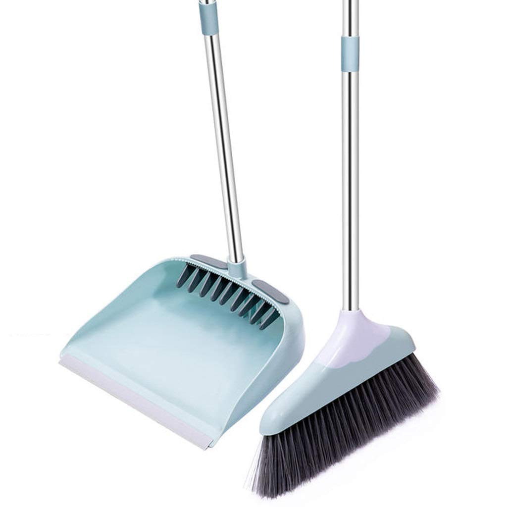 Lsxlsd Dustpan And Brushes Set Broom And Dustpan Long Handle Broom And Dust Pan Set by Lsxlsd