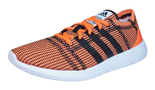 Adidas Bolt (adidas Element Refine Tricot Mens Running Sneakers / Shoes-Orange-8)