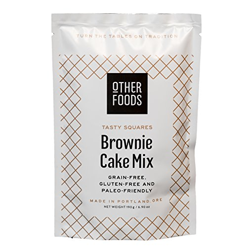 Gluten Free Chocolate Brownie Cake Mix, Paleo Friendly - Grain, Dairy, Nut & Soy Free - Baking Mix, by Other Foods