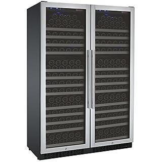 Allavino FlexCount 2X-VSWR177-1SST - 354 Bottle Dual Zone Wine Refrigerator - Side by Side