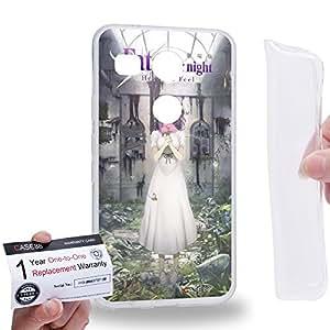 Case88 [LG Nexus 5X (2015)] Gel TPU Carcasa/Funda & Tarjeta de garantía - Fate/Stay Night Heaven's Feel Sakura Matou 3151
