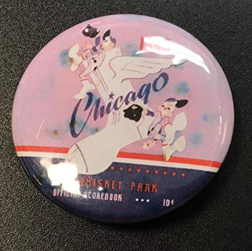 Chicago White Sox 1953 - 1953 CHICAGO WHITE SOX COMISKEY PARK BUTTON PIN