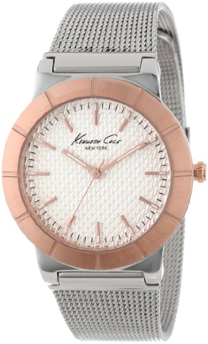 Kenneth Cole New York Women's Quartz Stainless Steel Case  Stainless Steel Bracelet Silver,(Model:KC4907)