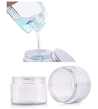 3350c77c8874 Amazon.com: DLIBUY (Pack of 24) 100g Clear Empty Plastic Containers ...