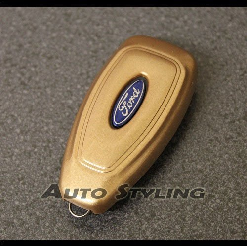 Gold Ford  Button Smart Key Cover Case Remote Amazon Co Uk Electronics