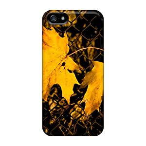 New Arrival Premium Iphone 5/5s Case(yellow Leafs)