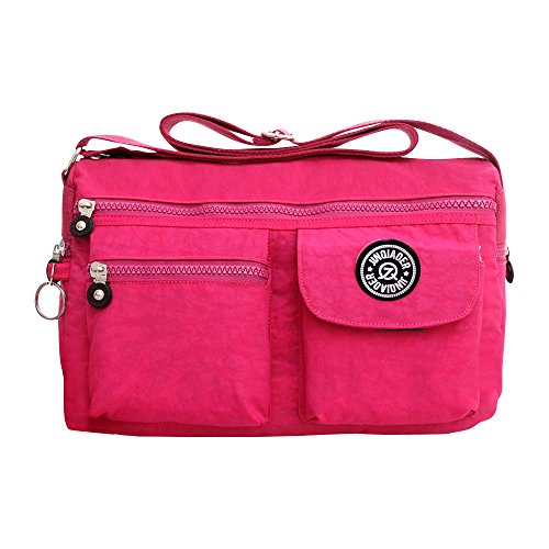 Handbag Messenger Tote Ladies Body Hot Bag Cross Shoulder Purse Wocharm Vintage Pink Bag Women tqwE4qY