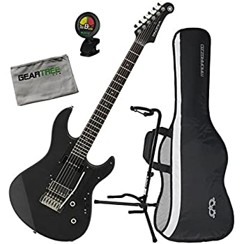 yamaha pac611vfmx mrbl limited edition electric guitar matte trans black w bag. Black Bedroom Furniture Sets. Home Design Ideas