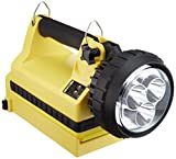 Streamlight 45871 E-Spot Litebox Lantern Standard System with 120V AC/12V DC Charge Cords, Shoulder Strap and Mounting Rack, Yellow - 540 Lumens