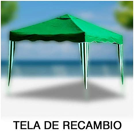 PAPILLON 8043624 Tela Recambio para Pergola Plegable Verde ...