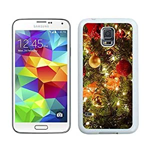 2014 Newest Merry Christmas White Samsung Galaxy S5 Case 39 hjbrhga1544