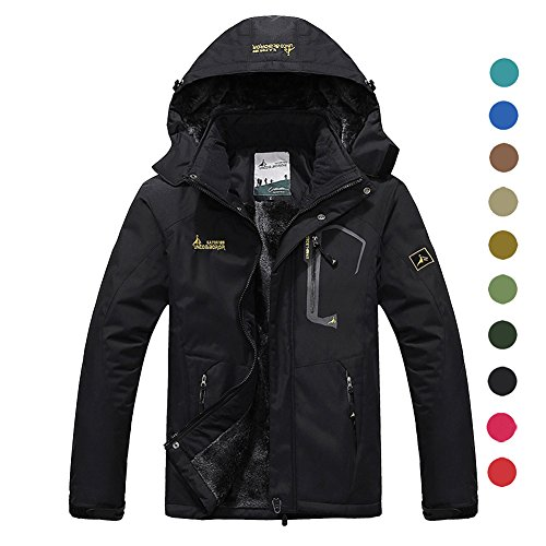 Black Snowboarding Jacket - 9