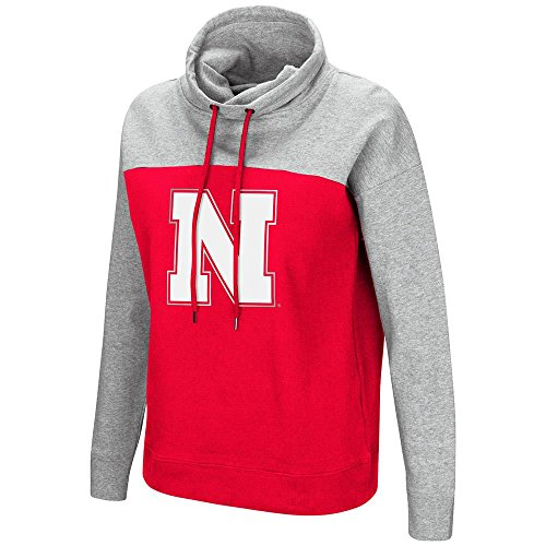 huskers Funnel Neck Pull-over Sweater - L ()