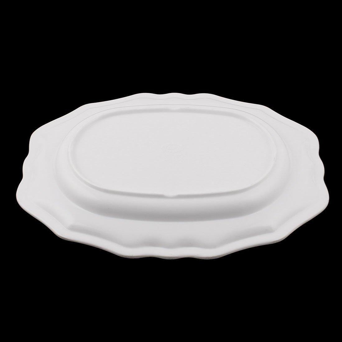 Amazon.com: Padrão DealMux Rose melamina Household Retângulo Fruit Titular dos doces Bandeja de Serviço colorido: Kitchen & Dining