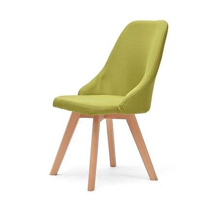 Amazon.com - Fly Lounge Chair, Nordic Minimalist Solid Wood ...