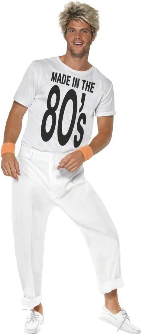 Traje ochentero disfraz años 80: Amazon.es: Juguetes y juegos