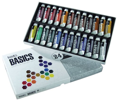 Price comparison product image Liquitex BASICS Acrylic Paint Tube 24-Piece Set