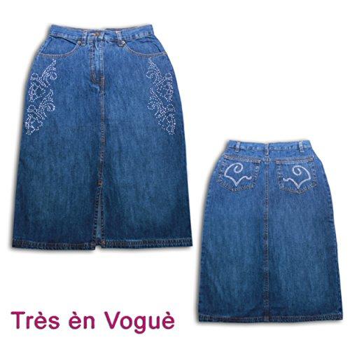 Très èn Voguè - Falda - trapecio - para mujer