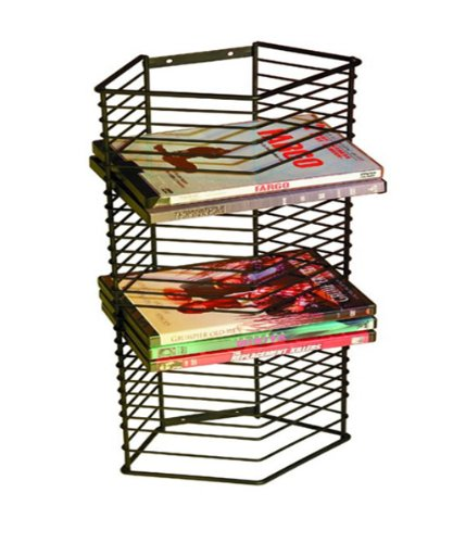 Wire Dvd Rack - 4