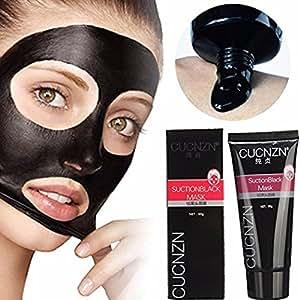 Blackhead Remover Mask,Black Head Facial Mask Deep Cleansing Purifying Peel-off Mask,Black Mud Face Mask,Blackhead Cleansing Mask