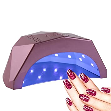 Lampada Unghie Lampada UV a LED da 24W per asciugatrice per