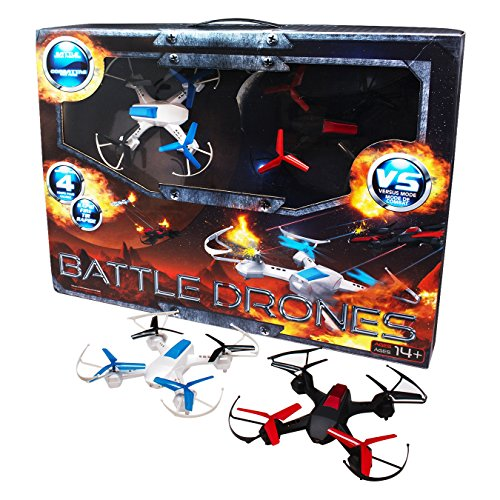 Alta Quadcopter Battle RC Drones Scout and Divebomb with 2.4GHZ Remote Control by Alta