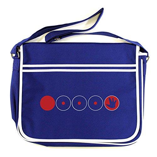 Cobalt Shoulder Store Blue Cotton Arcane Man Bag pq1nC0WR