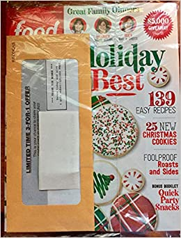 Food Network December 2018 Holiday Best 139 Easy Recipes Amazon