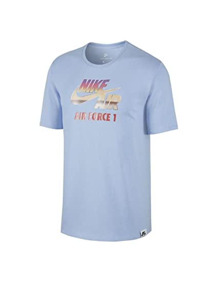 8c3ee421 Nike M NSW TEE HVYWT AF1 Chrome Mens Fashion-t-Shirts 847593 at Amazon Men's  Clothing store: