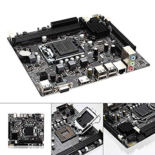 Finerplan for Intel H61 Socket LGA 1155 DDR3 Computer Motherboard PCIE Micro ATX Board Support Core i7