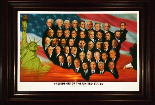 Barack Obama Presidents Lithograph - Limited Edition