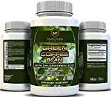 Marty Frank Naturals Green Coffee Bean with Clorogenic Acid, For Weight Loss and Blood Pressure Control, 60 Veggie Caps